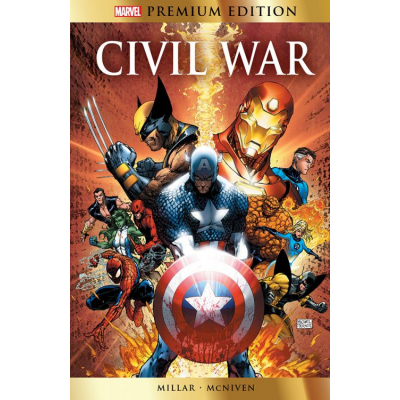 UK: Marvel Premium: Civil War, HC, English
