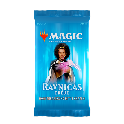 MTG - Ravnicas Treue Booster Pack, Deutsch