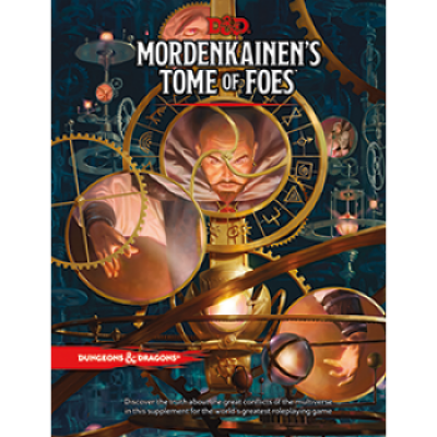 Dungeons & Dragons RPG - Mordenkainens Tome of Foes, Englisch