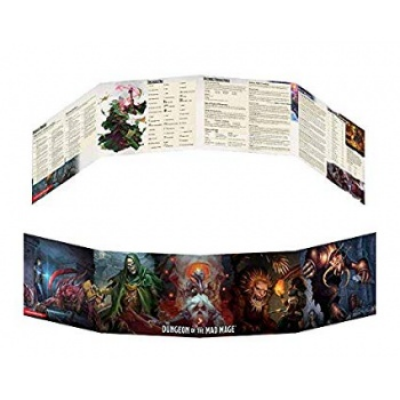 D&D Dungeon of the Mad Mage DM Screen, Englisch
