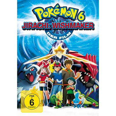 Pokemon DVD 6 - Jirachi: Wishmaker