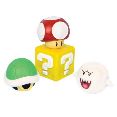 Super Mario 3D Stress Ball 8 cm