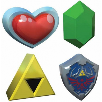 Legend of Zelda 3D Stress Balls 8 cm