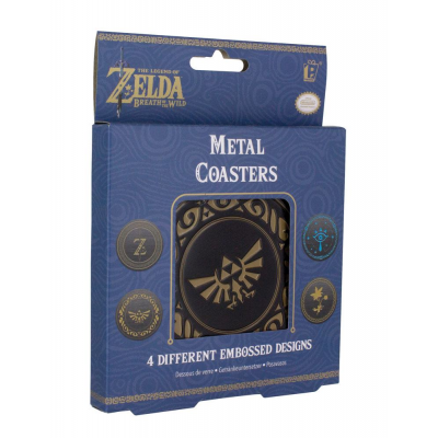 Legend of Zelda Breath of the Wild Untersetzer 4er-Pack