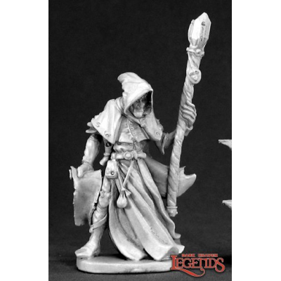 Reaper 03381: Satheras, Elf Warlock, Dark Heaven Legends