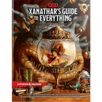 Dungeons & Dragons RPG - Xanathars Guide to Everything, Englisch