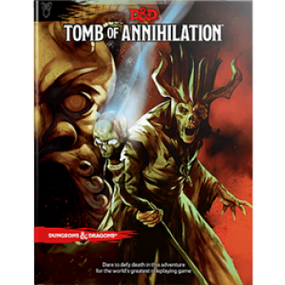 Dungeons & Dragons RPG - Tomb of Annihilation, Englisch