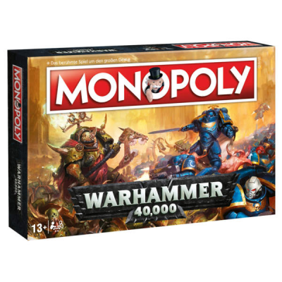 Warhammer 40k Board Game Monopoly, German