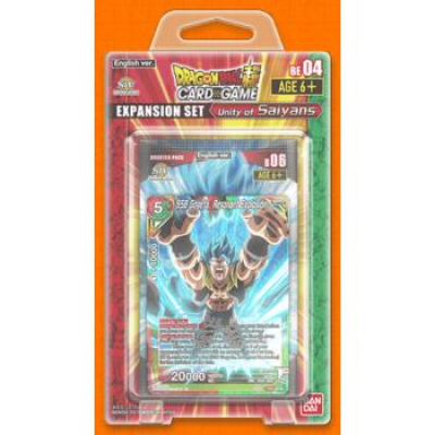 Dragon Ball Super Card Game - Expansion Set BE04: Unity...