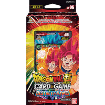 Dragon Ball Super Card Game - Special Pack Set  Destroyer...