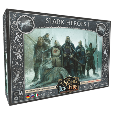 A Song of Ice & Fire - Stark Heroes 1 (Helden von Haus...