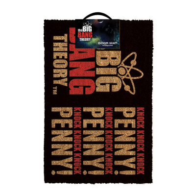 Doormat  - Knock Knock Penny 40 x 60 cm - The Big Bang...