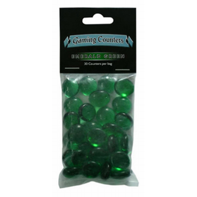 Gaming Counter Emerald Green (30)