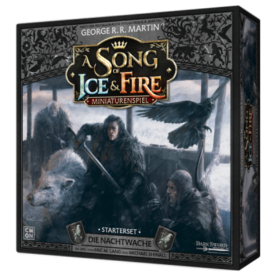 A Song of Ice & Fire - Die Nachtwache Starterset, Deutsch