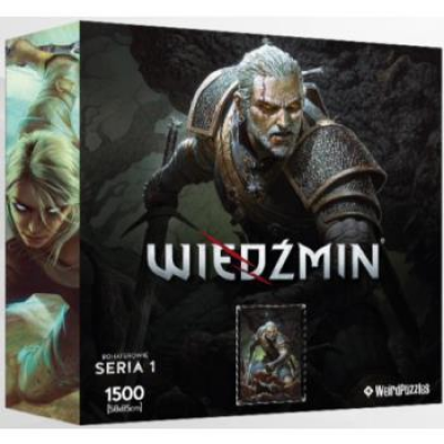 Heroes of the Witcher Series 1 Puzzle 58x85 cm - GERALT
