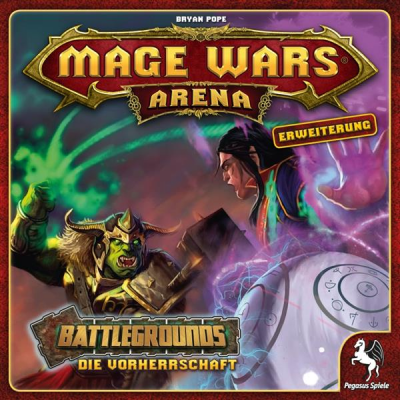 Mage Wars Arena - Battlegrounds: Die Vorherrschaft, German