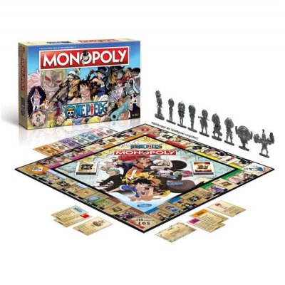 One Piece Board Game Monopoly, German