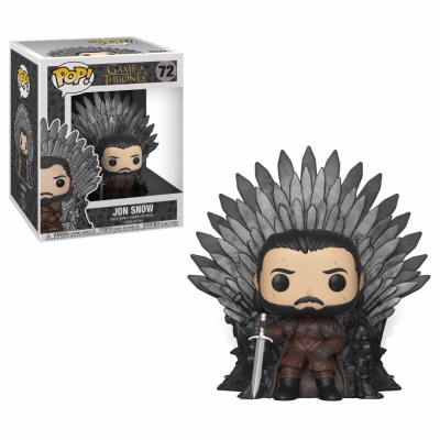 Game of Thrones POP! Deluxe Vinyl Figure Jon Snow on Iron...