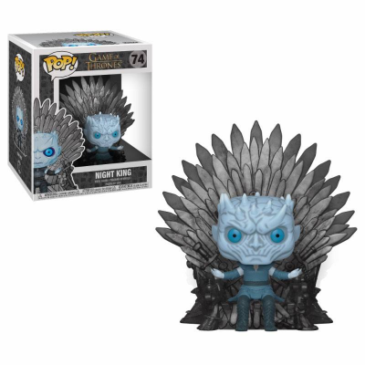 Game of Thrones POP! Deluxe Vinyl Figure Night King on...