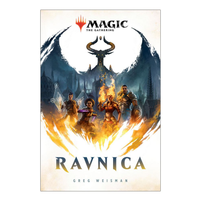 Magic the Gathering Book Ravnica by Greg Weisman, English