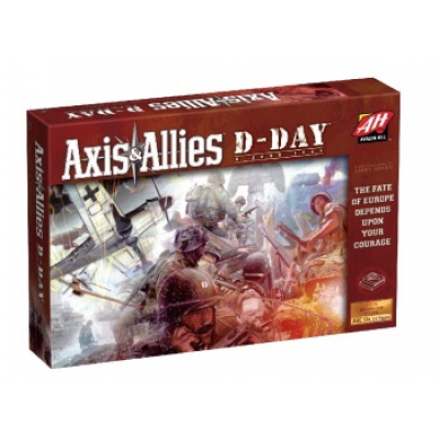 Axis & Allies: D-Day, English
