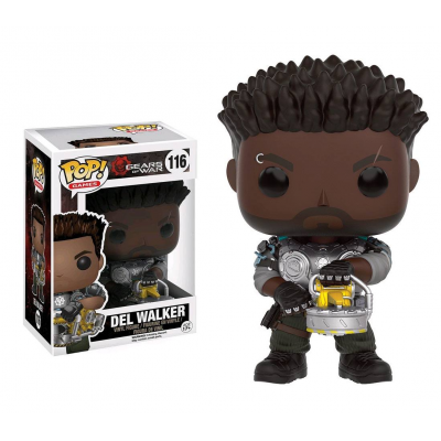 Gears of War POP! Games Vinyl Figure Del Walker 9 cm