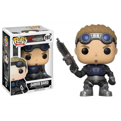 Gears of War POP! Games Vinyl Figure Damon Baird 9 cm