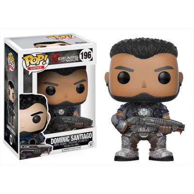 Gears of War POP! Games Vinyl Figure Dominic Santiago 9 cm