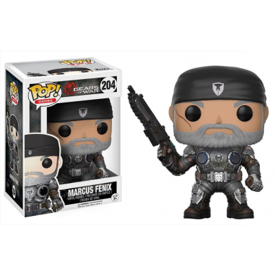 Gears of War POP! Games Vinyl Figure Marcus Fenix (Old...