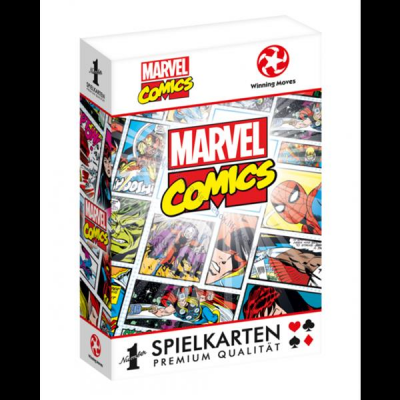Marvel Playing Cards Comic Book Designs