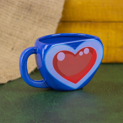 The Legend of Zelda Tasse Shaped Heart Container