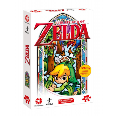 The Legend of Zelda Jigsaw Puzzle Link Boomerang