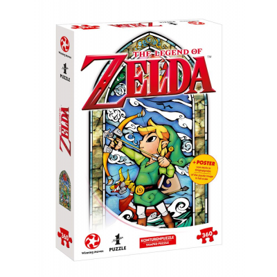 The Legend of Zelda Jigsaw Puzzle Link Heros Bow