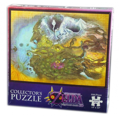 Legend of Zelda Majoras Mask Puzzle Terminal