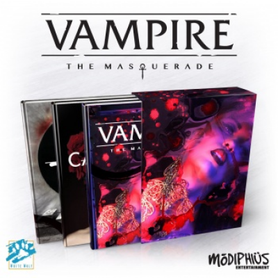 Vampire: The Masquerade 5th Edition Slipcase Set, English