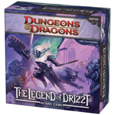 D&D - The Legend of Drizzt, English
