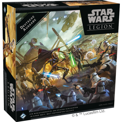 Star Wars Legion: Clone Wars Grundspiel, Deutsch