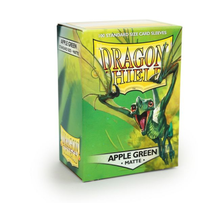 Dragon Shield Standard Sleeves - Matte Apple Green (100...