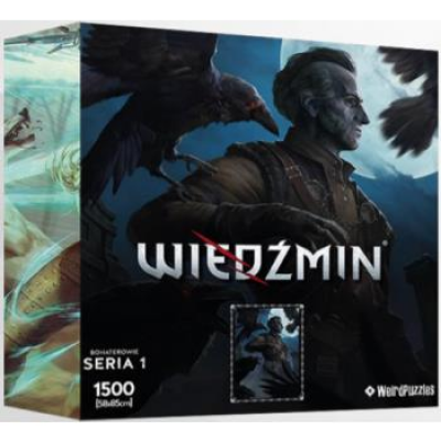 Heroes of the Witcher Series 1 Puzzle 58x85 cm - REGIS