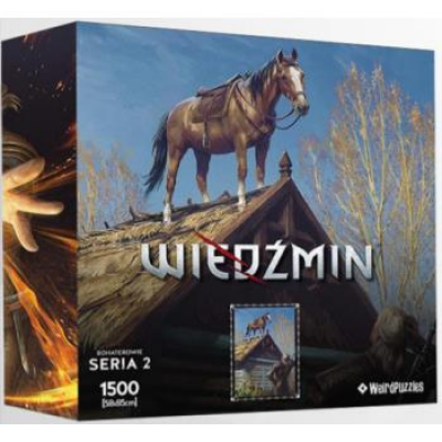 Heroes of the Witcher Series 2 Puzzle 58x85 cm - ROACH