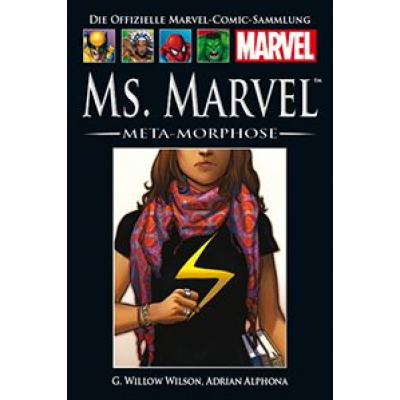 Hachette Marvel Collection 139: Ms. Marvel: Meta-Morphose