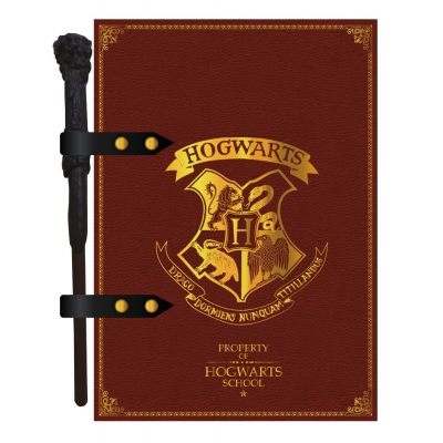 Harry Potter Notebook with Pen Hogwarts