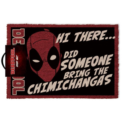 Deadpool Doormat Hi There 40 x 60 cm