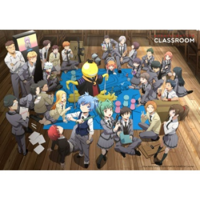 Assassination Classroom Wallscroll XL - Koro with Class...