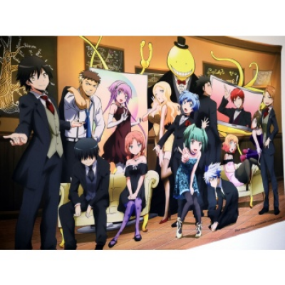 Assassination Classroom Wallscroll XL - School Ball, 200...