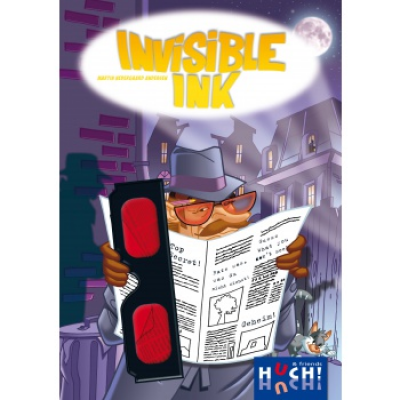 Invisible Ink, German/Englis