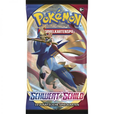 PKM - Schwert & Schild Booster Pack, Deutsch