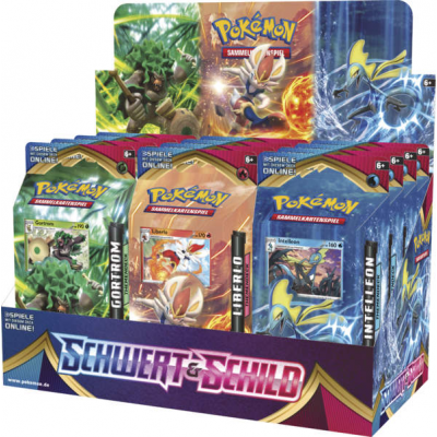 Pokemon Schwert & Schild Themendeck, Deutsch