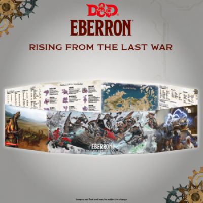 D&D - Rising from the last war - Eberron DM Screen, English