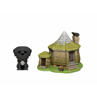 Harry Potter POP! Town Vinyl Figure Hagrids Hut & Fang 9 cm